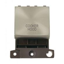Click MiniGrid MD022SCCH S/Chrome 20A DP Cooker Hood Sw Mod