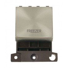 Click MiniGrid MD022SCFZ Satin Chrome 20A DP Freezer Sw Module