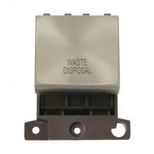 Click MiniGrid MD022SCWD S/Chrome 20A DP Waste Disposal Sw Mod