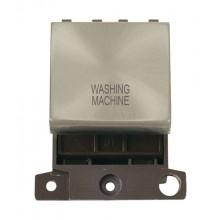 Click MiniGrid MD022SCWM S/Chrome 20A DP Washing Machine Sw Mod