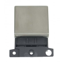 Click MiniGrid MD022SS Stainless Steel 20A DP Switch Module