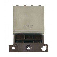 Click MiniGrid MD022SSBL Stainless Steel 20A DP Boiler Module