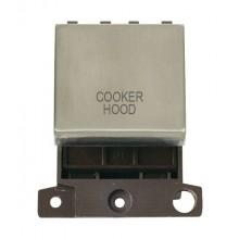 Click MiniGrid MD022SSCH S/Steel 20A DP Cooker Hood Module