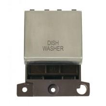 Click MiniGrid MD022SSDW S/Steel 20A DP Dishwasher Module