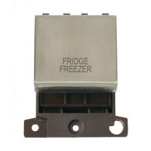Click MiniGrid MD022SSFF S/Steel 20A DP Fridge Freezer Module