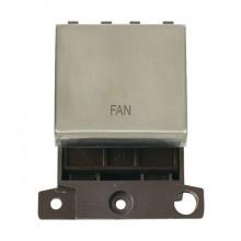 Click MiniGrid MD022SSFN Stainless Steel 20A DP Fan Module