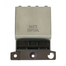 Click MiniGrid MD022SSWD S/Steel 20A DP Waste Disposal Module