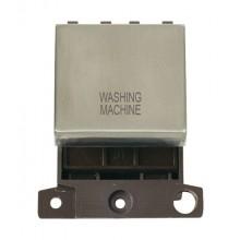 Click MiniGrid MD022SSWM S/Steel 20A DP Washing Machine Module