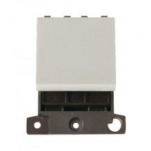 Click MiniGrid MD022WH White 20A DP Switch Module