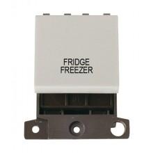 Click MiniGrid MD022WHFF White 20A DP Fridge Freezer Switch Mod