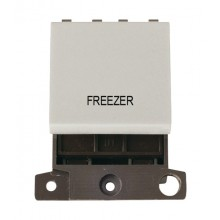 Click MiniGrid MD022WHFZ White 20A DP Freezer Switch Module