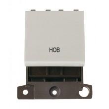 Click MiniGrid MD022WHHB White 20A DP Hob Switch Module