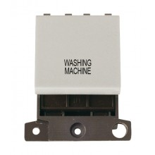 Click MiniGrid MD022WHWM White 20A DP Washing Machine Switch Mod