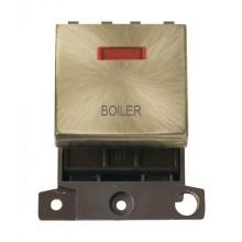 Click MiniGrid MD023ABBL Antique Brass DP Boiler Module + Neon