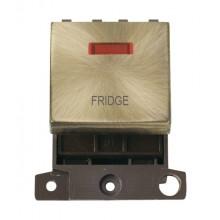 Click MiniGrid MD023ABFD Antique Brass DP Fridge Module + Neon