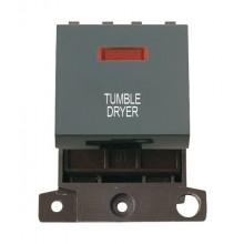 Click MiniGrid MD023BKTD Black 20A DP Tumble Dryer Module + Neon