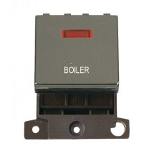 Click MiniGrid MD023BNBL Black Nickel DP Boiler Module + Neon