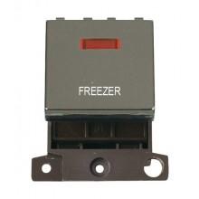 Click MiniGrid MD023BNFZ Black Nickel DP Freezer Module + Neon