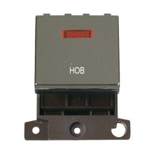 Click MiniGrid MD023BNHB Black Nickel DP Hob Module + Neon