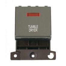 Click MiniGrid MD023BNTD B/Nickel DP Tumble Dryer Module + Neon