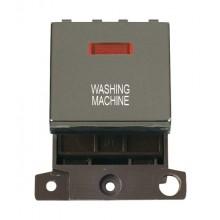 Click MiniGrid MD023BNWM B/Nickel DP Washing Machine Module Neon