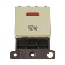 Click MiniGrid MD023BRTD Pol/Brass DP Tumble Dyer Module Neon