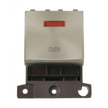 Click MiniGrid MD023BSOV Brushed Steel DP Oven Module + Neon