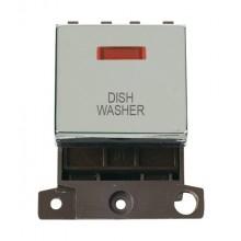 Click MiniGrid MD023CHDW Pol/Chrome DP Dishwasher Mod + Neon