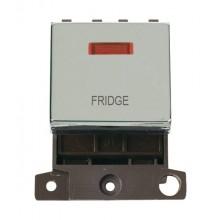 Click MiniGrid MD023CHFD Polished Chrome DP Fridge Module + Neon