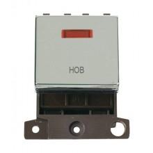 Click MiniGrid MD023CHHB Polished Chrome DP Hob Module + Neon