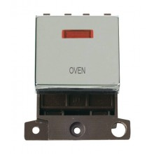 Click MiniGrid MD023CHOV Polished Chrome DP Oven Module + Neon