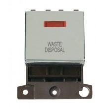 Click MiniGrid MD023CHWD Pol/Chrome DP Waste Disposal Mod + Neon