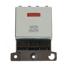 Click MiniGrid MD023CHWH Pol/Chrome DP Water Heater Mod + Neon