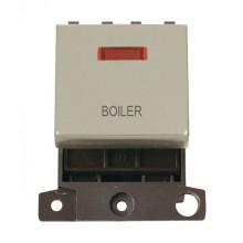 Click MiniGrid MD023PNBL Pearl Nickel DP Boiler Module + Neon