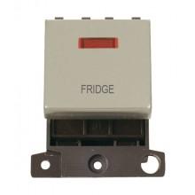 Click MiniGrid MD023PNFD Pearl Nickel DP Fridge Module + Neon