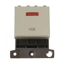 Click MiniGrid MD023PNHB Pearl Nickel DP Hob Module + Neon