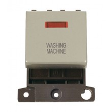 Click MiniGrid MD023PNWM P/Nickel DP Washing Machine Module Neon