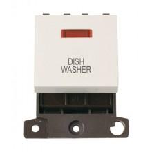 Click MiniGrid MD023PWDW Polar White 20A DP Dishwasher Mod Neon