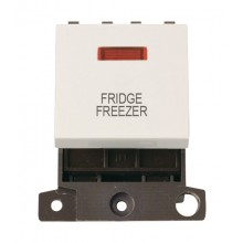Click MiniGrid MD023PWFF P/White 20A DP Fridge Freezer Mod Neon