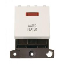 Click MiniGrid MD023PWWH P/White 20A DP Water Heater Mod + Neon