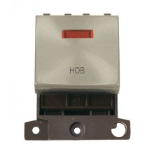 Click MiniGrid MD023SCHB Satin Chrome DP Hob Module + Neon