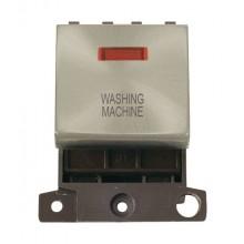 Click MiniGrid MD023SCWM Sat/Chrome DP Washing Machine Mod Neon