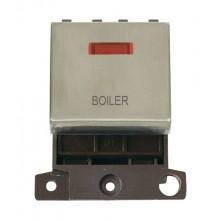 Click MiniGrid MD023SSBL Stainless Steel DP Boiler Module + Neon