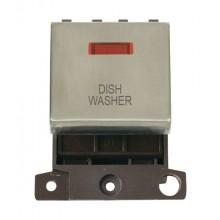 Click MiniGrid MD023SSDW S/Steel DP Dishwasher Module + Neon