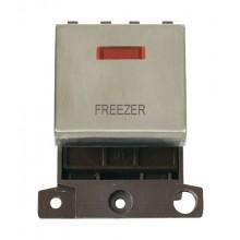 Click MiniGrid MD023SSFZ Stainless Steel DP Freezer Module Neon