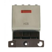 Click MiniGrid MD023SSHB Stainless Steel DP Hob Module + Neon