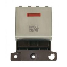 Click MiniGrid MD023SSTD S/Steel DP Tumble Dryer Module + Neon