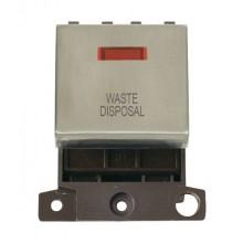 Click MiniGrid MD023SSWD S/Steel DP Waste Disposal Module + Neon