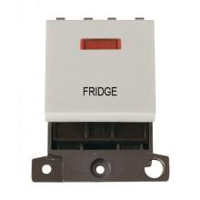 Click MiniGrid MD023WHFD White 20A DP Fridge Module + Neon