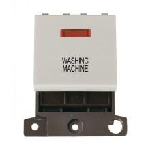 Click MiniGrid MD023WHWM White 20A DP Washing Machine Mod + Neon